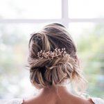 Tendências de noivas cabelo curto 2019