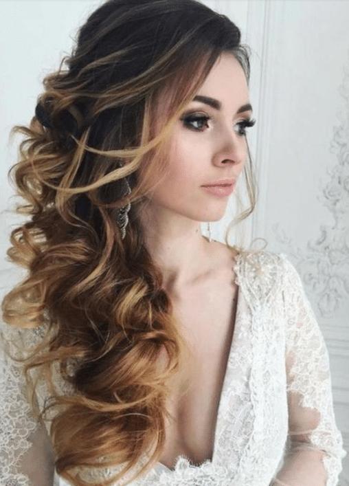 10 Dicas De Penteados Noivas Cabelos Longos Semi Preso